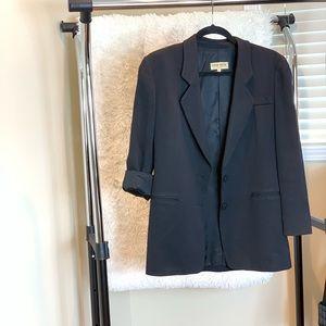 Armani : black long blazer